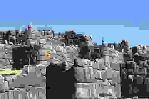 Khám phá sự kỳ bí của bức tường đá Sacsayhuaman